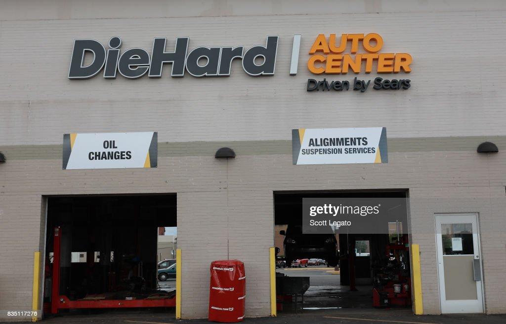 \ Sears Opens DieHard Auto Center In Troy, Michigan at DieHard Auto Center on August 18, 2017 in Troy, Michigan.