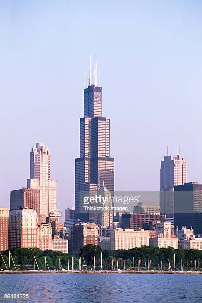 Sears Tower in Chicago skyline, Illinois