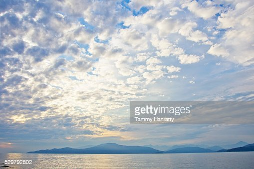 Seascape at sunrise : Stockfoto