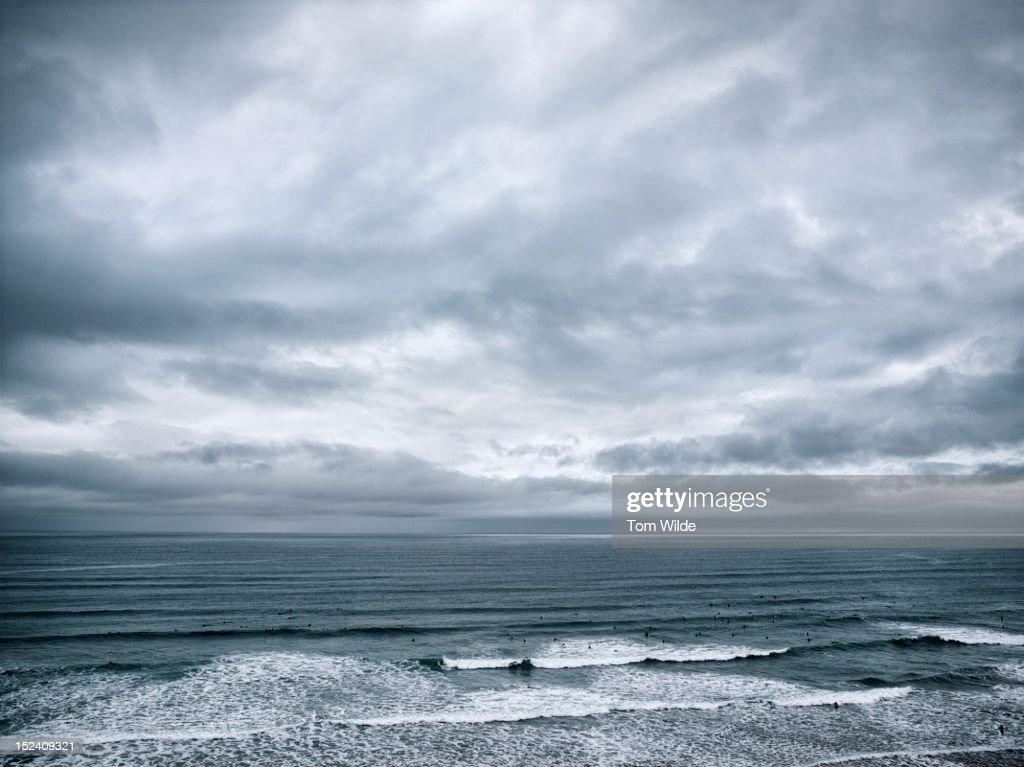 Seascape Cornwall : Stock Photo