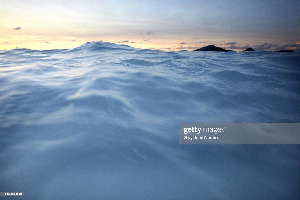 Seascape Ffryers Bay Antigua : Stock Photo