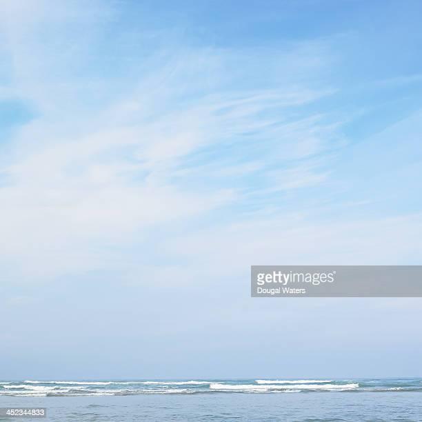 Seascape from Atlantic coastline