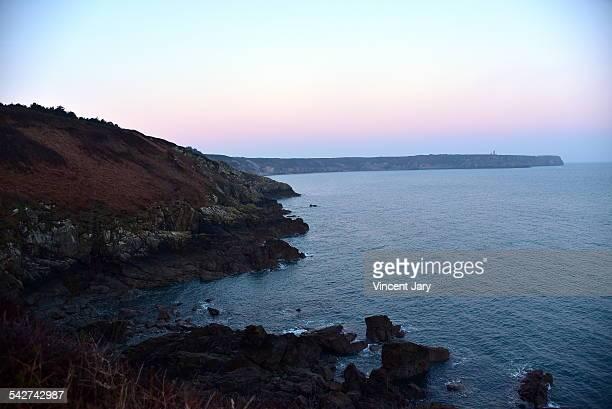Seascape of Britanny France