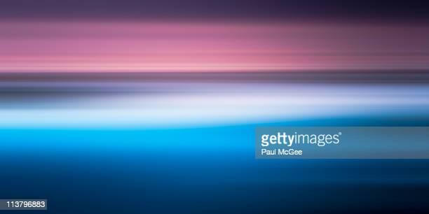 Seascape Sunrise Abstract