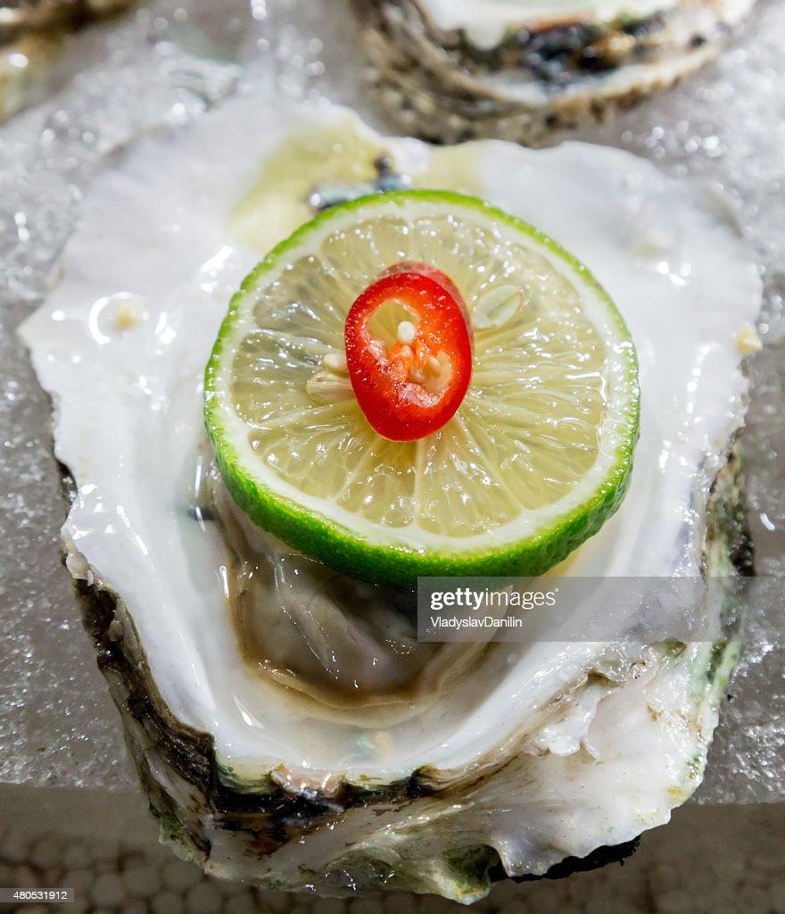 seashell meat : Stockfoto