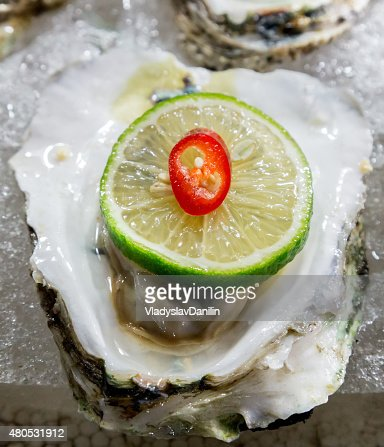 seashell meat : Stock Photo