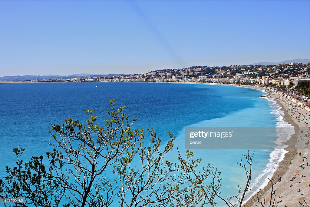 Seashore at Nice : Stock Photo