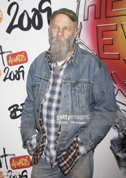 Seasick Steve arriving for the Brit Awards shortlist announcement at the Roundhouse in London