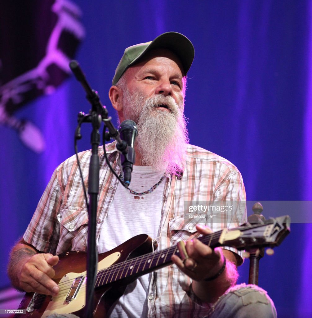 <a gi-track='captionPersonalityLinkClicked' href=/galleries/search?phrase=Seasick+Steve&family=editorial&specificpeople=4339803 ng-click='$event.stopPropagation()'>Seasick Steve</a> performs at day one of the Lowlands Festival on August 16, 2013 in Biddinghuizen, Netherlands.
