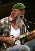 Seasick Steve performs on stage on day one of The Falls Festival 2009 held in Otway rainforest on December 29 2009 in Lorne Australia