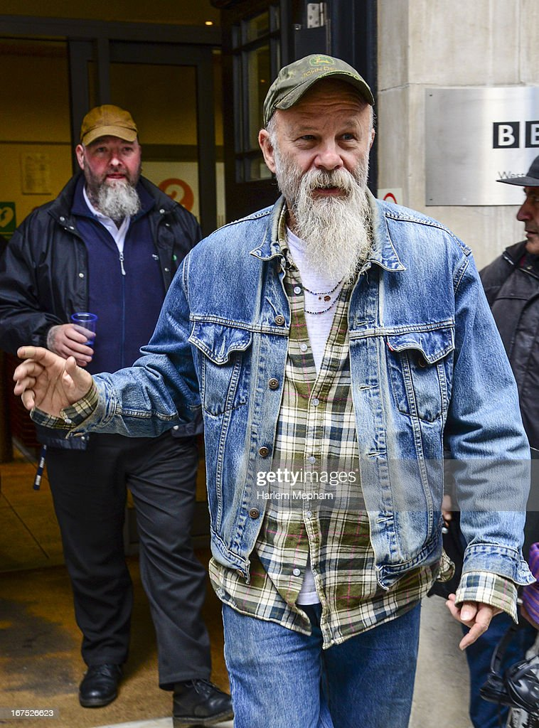 <a gi-track='captionPersonalityLinkClicked' href=/galleries/search?phrase=Seasick+Steve&family=editorial&specificpeople=4339803 ng-click='$event.stopPropagation()'>Seasick Steve</a> sighted at BBC Radio 2 studios on April 26, 2013 in London, England.