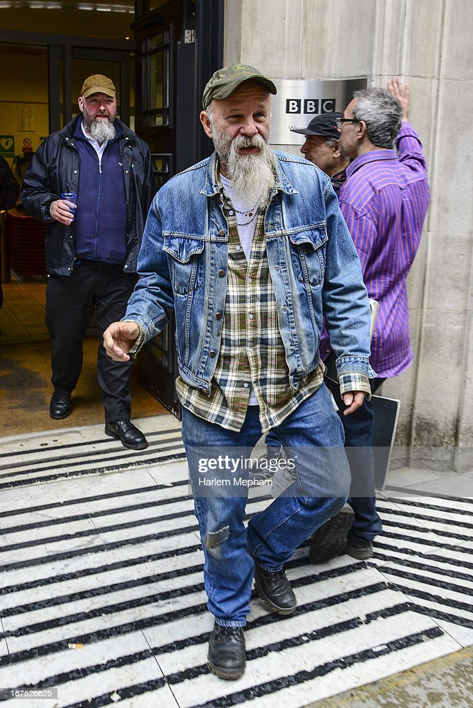 Seasick Steve sighted at BBC Radio 2 studios on April 26, 2013 in London, England.