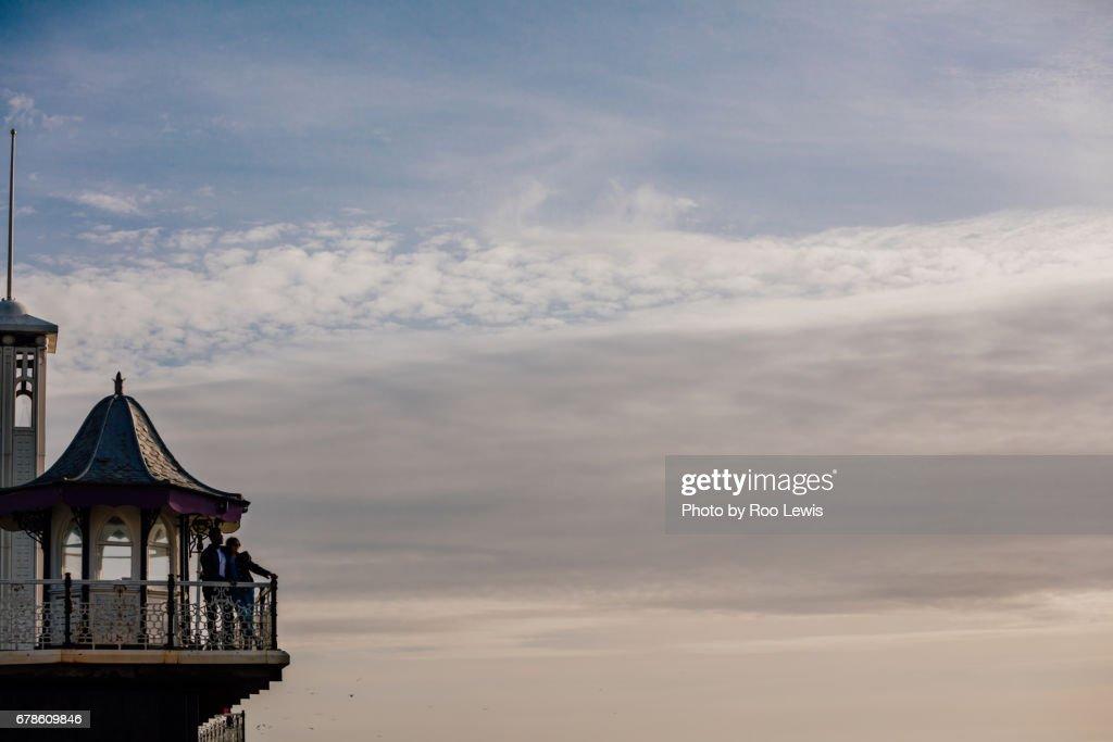Seaside Couples : Stock Photo