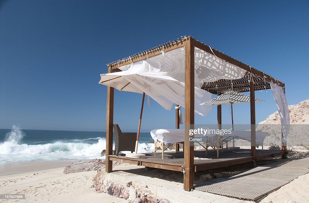 Seaside Massage Cabana at a Resort (Los Cabos, Mexico)