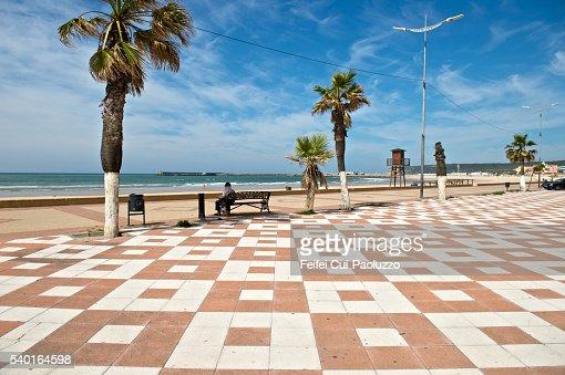 Seaside of Barbate in Spain