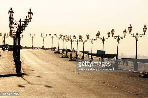 Seaside promenade in Muscat, Oman : Stock Photo
