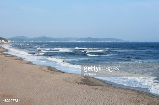 Seaside resort in Kamakura,Kanagawa : Stock Photo
