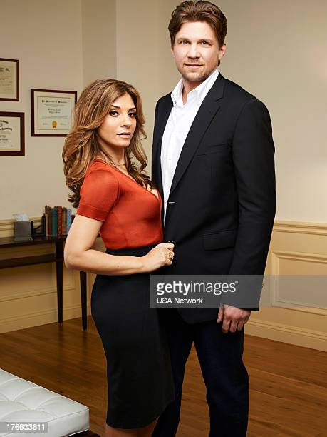 ROUGHNESS Season 1 Gallery Pictured Callie Thorne as Danielle Santino Marc Blucas as Matthew Donnally