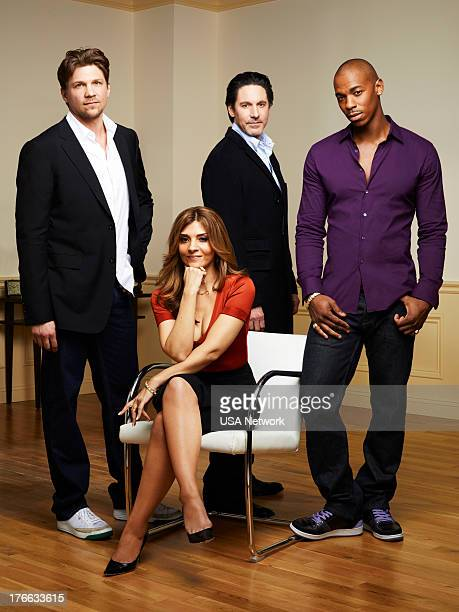 ROUGHNESS Season 1 Gallery Pictured Marc Blucas as Matthew Donnally Callie Thorne as Danielle Santino Scott Cohen as Nico Careles Mehcad Brooks as...