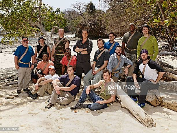 1 Pictured James Murray Taylor Cole Davion Peterson Rob Brothers Michael Rossini Trey Williams Dakota Mortensen Bear Grylls Richard Smith Judson...