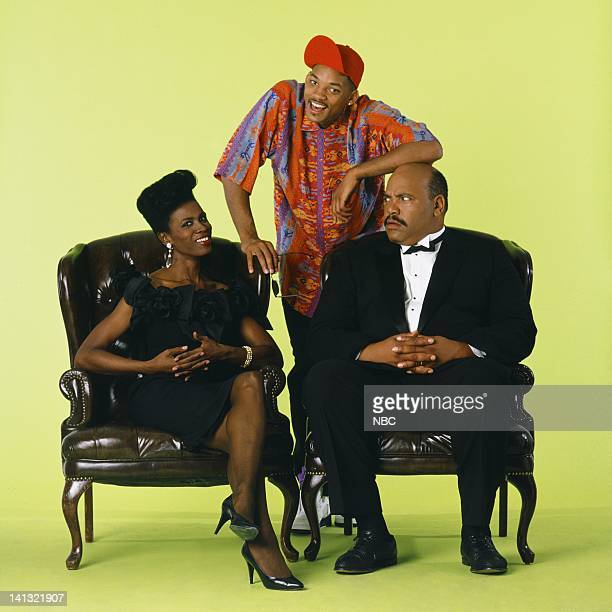 Janet Hubert as Vivian Banks Will Smith as William 'Will' Smith James Avery as Philip Banks Photo by Chris Haston/NBCU Photo Bank
