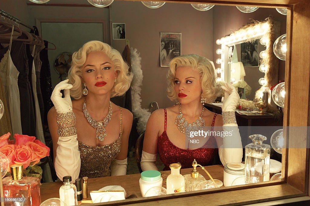 Katharine McPhee as Karen Cartwright as Marilyn Monroe Megan Hilty as Ivy Lynn as Marilyn Monroe