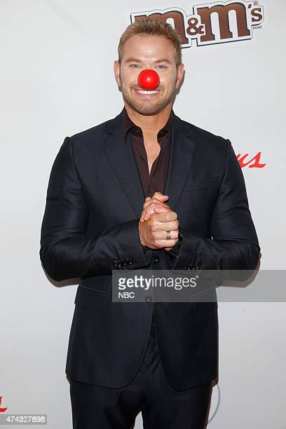 1 Pictured Kellan Lutz arrives at NBC's 'Red Nose Day' Charity Event at the Hammerstein Ballroom in New York NY on May 21 2015