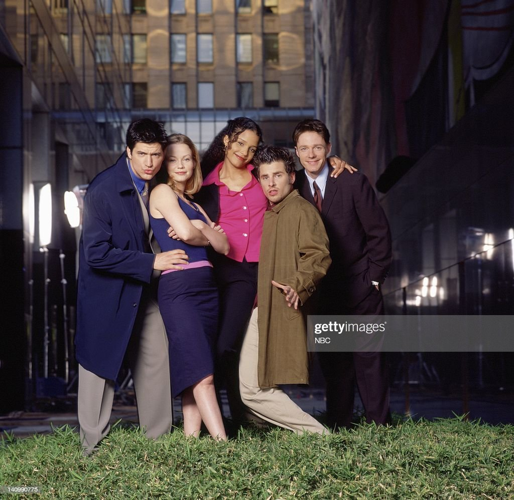 <a gi-track='captionPersonalityLinkClicked' href=/galleries/search?phrase=Ken+Marino&family=editorial&specificpeople=2979469 ng-click='$event.stopPropagation()'>Ken Marino</a> as Miles Lawton, <a gi-track='captionPersonalityLinkClicked' href=/galleries/search?phrase=Samantha+Mathis&family=editorial&specificpeople=213487 ng-click='$event.stopPropagation()'>Samantha Mathis</a> as Anna Weller, <a gi-track='captionPersonalityLinkClicked' href=/galleries/search?phrase=Sydney+Tamiia+Poitier&family=editorial&specificpeople=1518726 ng-click='$event.stopPropagation()'>Sydney Tamiia Poitier</a> as Riley Kessler, James Roday as Edgar 'Egg' Ross, <a gi-track='captionPersonalityLinkClicked' href=/galleries/search?phrase=Mackenzie+Astin&family=editorial&specificpeople=1541216 ng-click='$event.stopPropagation()'>Mackenzie Astin</a> as Warren Harrison -- Photo by: Chris Haston/NBCU Photo Bank