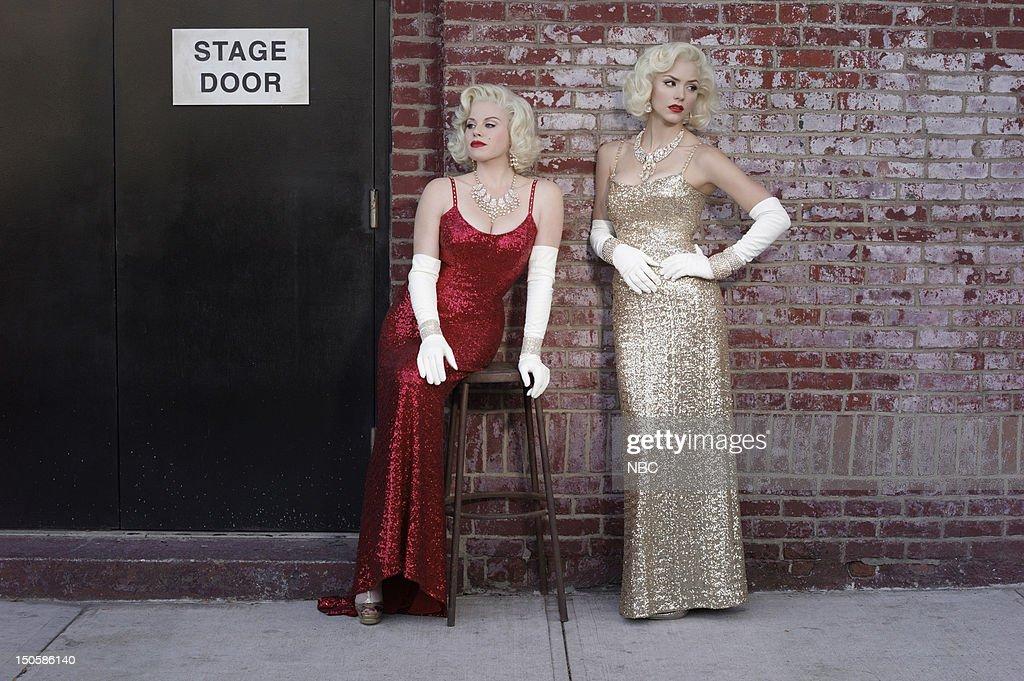 Megan Hilty as Ivy Lynn as Marilyn Monroe Katharine McPhee as Karen Cartwright as Marilyn Monroe