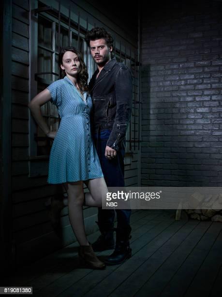 1 Pictured Sarah Ramos as Creek Francois Arnaud as Manfred