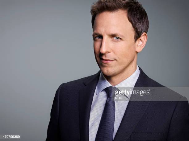 1 Pictured Seth Meyers