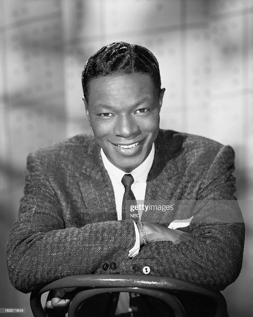 Singer Nat King Cole