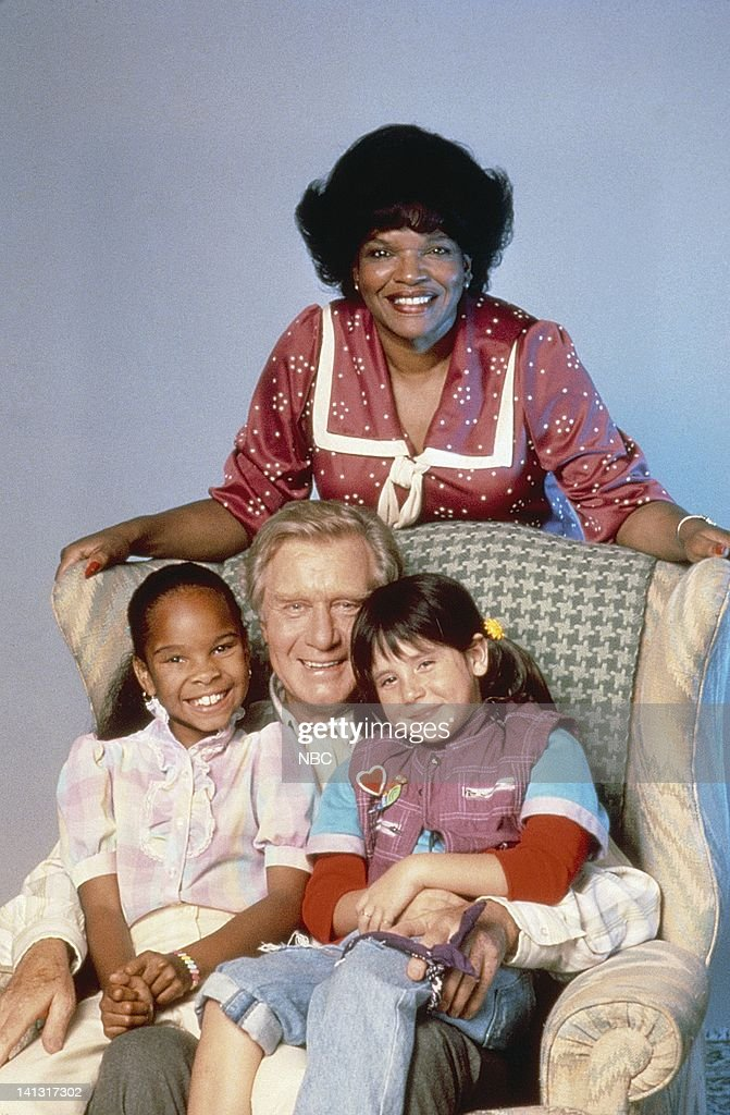 Susie Garrett as Betty Johnson, Cherie Johnson as Cherie Johnson, George Gaynes as Henry Warnimont, Soleil Moon Frye as Penelope 'Punky' Brewster -- Photo by: NBCU Photo Bank