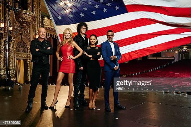10 Pictured Howie Mandel Heidi Klum Howard Stern Melanie 'Mel B' Brown Nick Cannon