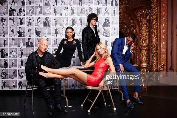 10 Pictured Howie Mandel Melanie 'Mel B' Brown Howard Stern Heidi Klum Nick Cannon