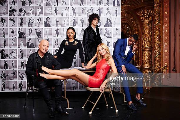 10 Pictured Howie Mandel Melanie 'Mel B' Brown Howard Stern Heidi Klum Nick Cannon