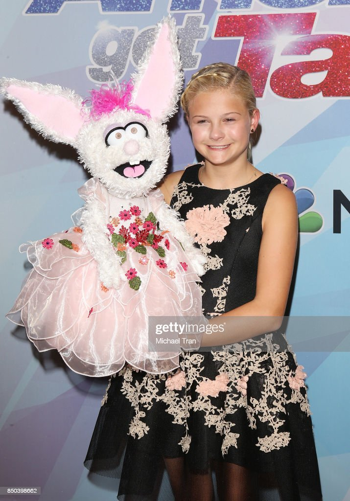 Season 12 winner, Darci Lynne Farmer attends NBC's 'America's Got Talent' Season 12 Finale held at Dolby Theatre on September 20, 2017 in Hollywood, California.