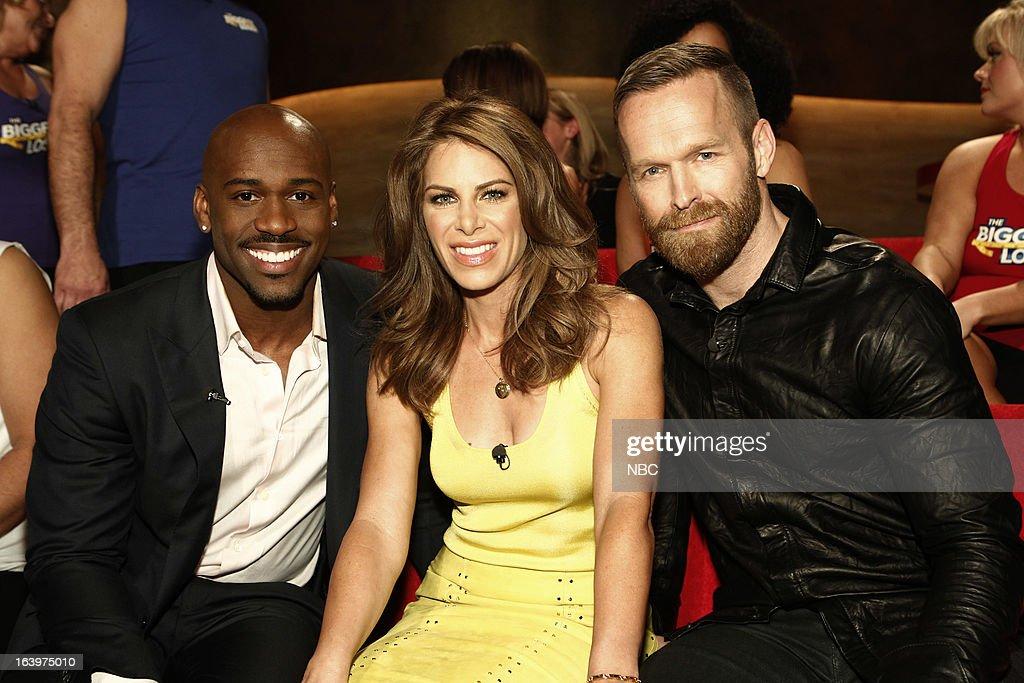 LOSER -- Season 14 Live Finale -- Pictured: (l-r) Dolvett Quince, Jillian Michaels, Bob Harper --