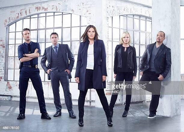 17 Pictured Peter Scanavino as Detective Dominick 'Sonny' Carisi Raúl Esparza as ADA Rafael Barba Mariska Hargitay as Sgt Olivia Benson Kelli Giddish...