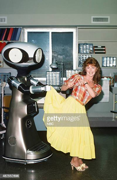 SICO the Robot with Suzanne Rogers as Maggie Horton