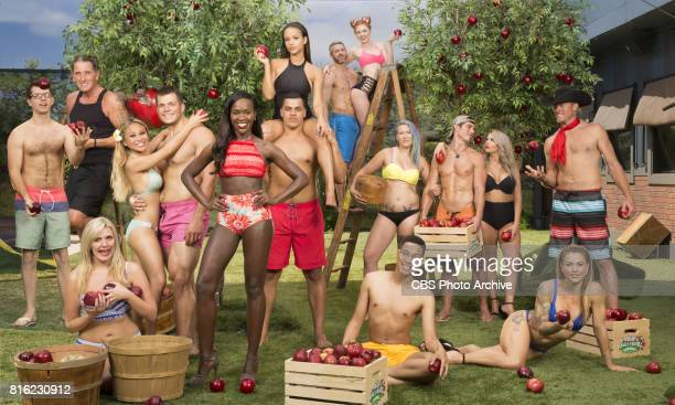 Season 19 of Big Brother Top Row LR Jessica Graf Matthew Clines Raven Walton Middle Row LR Cameron Heard Kevin Schlehuber Alex Ow Mark Jansen...