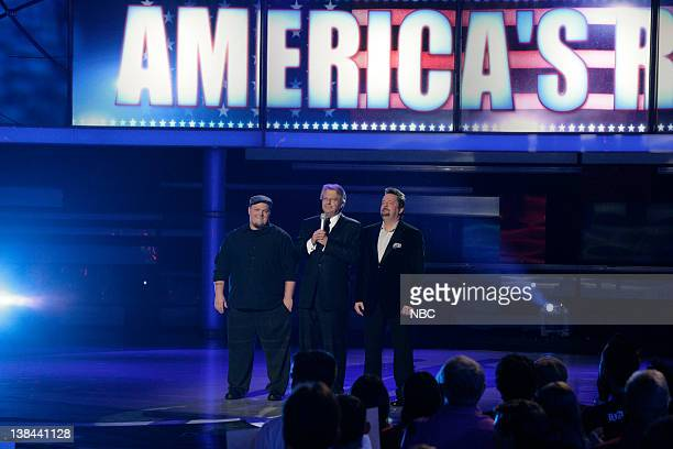 S GOT TALENT 'Season 2 Finale' Aired 8/21/07 Pictured Cas Haley host Jerry Springer Terry Fator