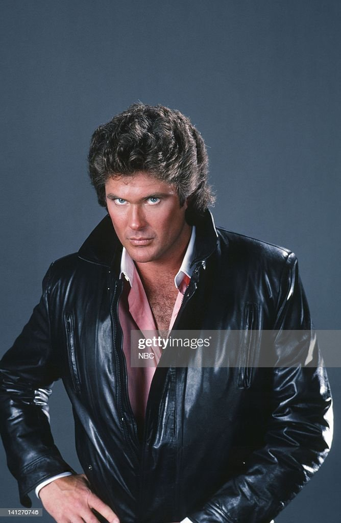 <a gi-track='captionPersonalityLinkClicked' href=/galleries/search?phrase=David+Hasselhoff&family=editorial&specificpeople=209380 ng-click='$event.stopPropagation()'>David Hasselhoff</a> as Michael Knight -- Photo by: Herb Ball/NBCU Photo Bank