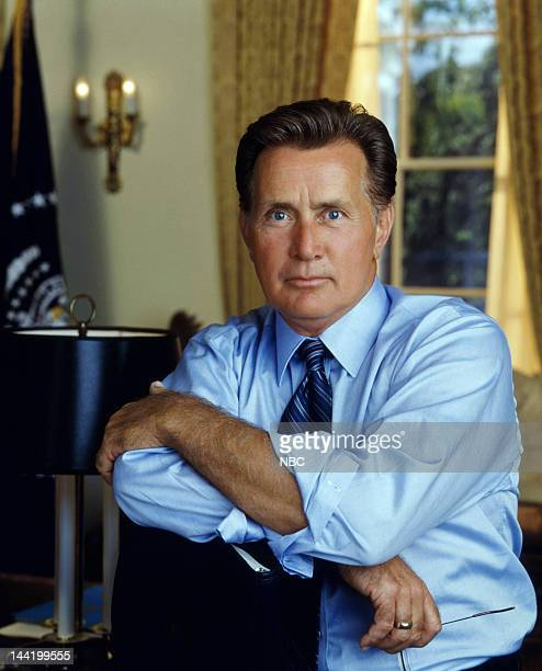 Martin Sheen as President Josiah 'Jed' Bartlet