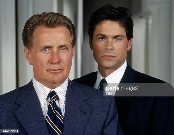 Martin Sheen as President Josiah 'Jed' Bartlet Rob Lowe as Sam Seaborn