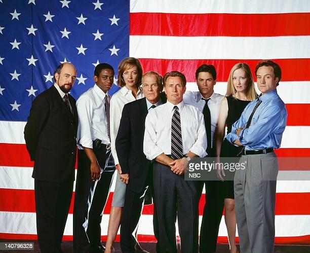 Richard Schiff as Toby Ziegler Dule Hill as Charlie Young Allison Janney as Claudida Jean 'CJ' Cregg John Spencer as Leo McGarry Martin Sheen as...