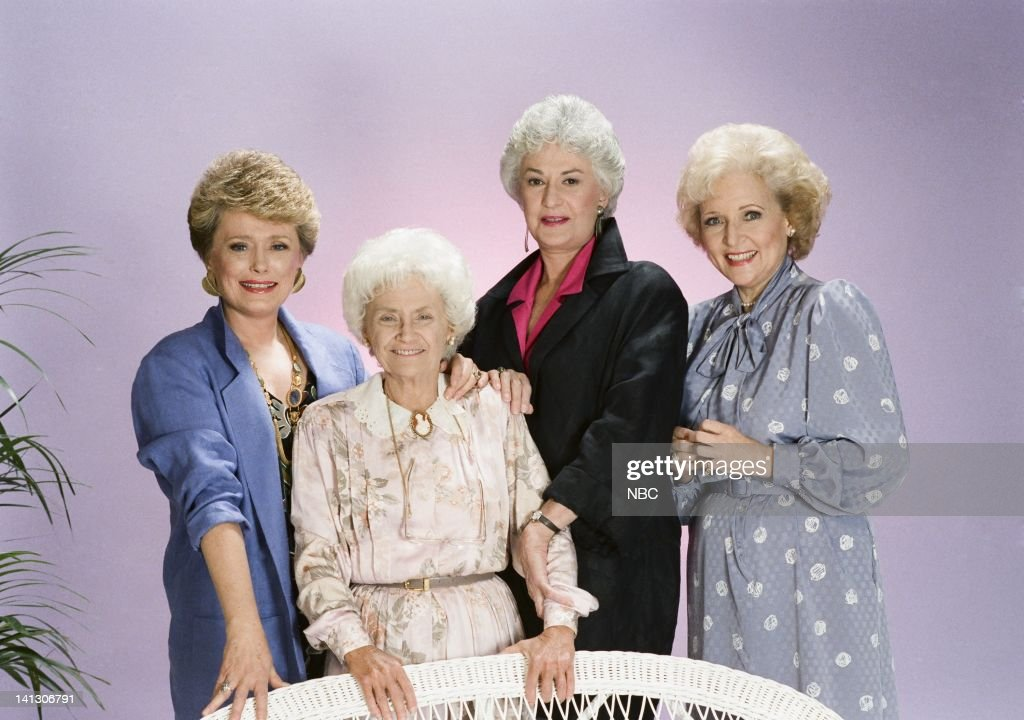 Rue McClanahan as Blanche Devereux Estelle Getty as Sophia Petrillo Bea Arthur as Dorothy Petrillo Zbornak Betty White as Rose Nylund Photo by Gary...