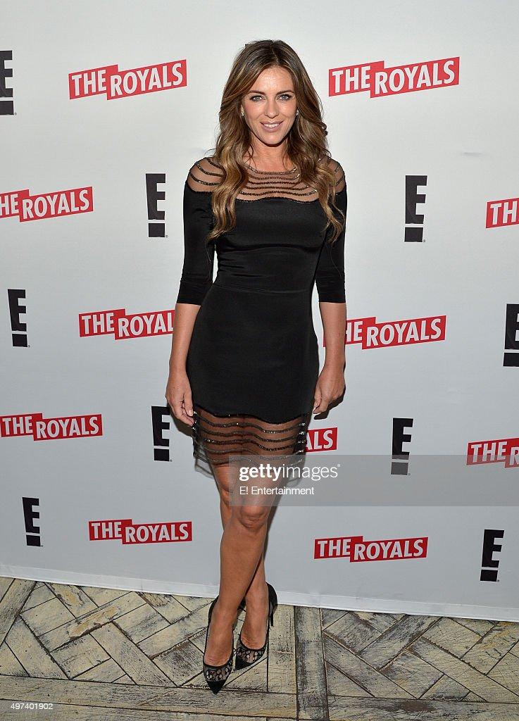THE ROYALS 'Season 2 Press Screening' Pictured Elizabeth Hurley