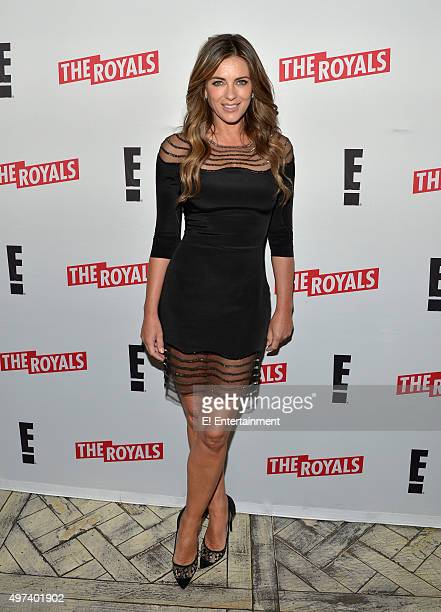 THE ROYALS 'Season 2 Press Screening' Pictured Elizabeth Hurley