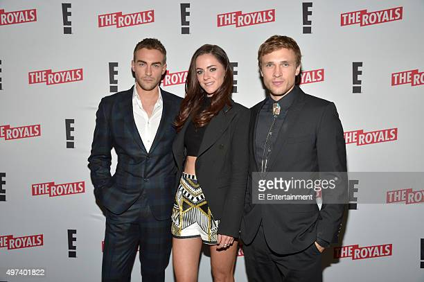 THE ROYALS 'Season 2 Press Screening' Pictured Tom Austen Alexandra Park and William Moseley